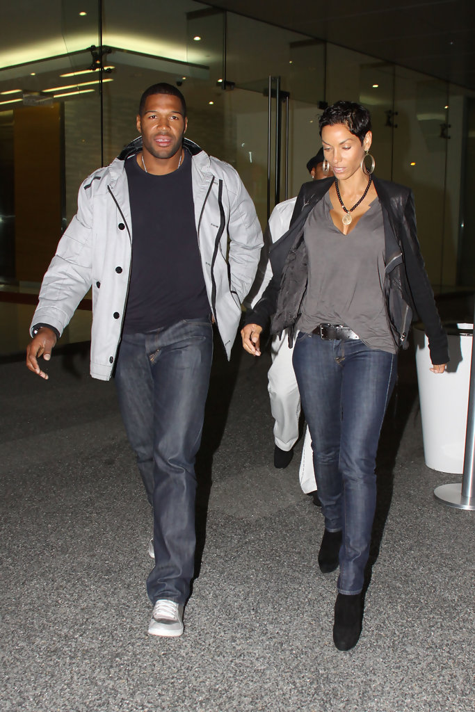 Nicole Murphy Photos Photos  Michael Strahan and Nicole