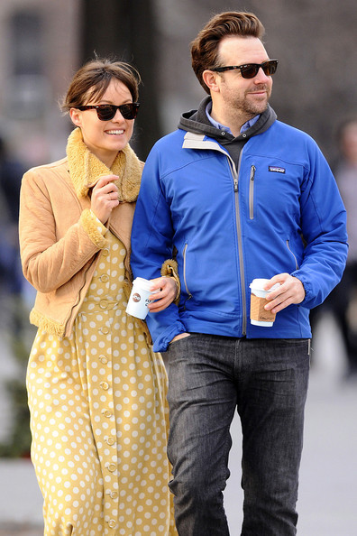 Olivia Wilde - Olivia Wilde and Jason Sudekis in NYC