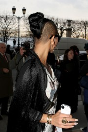 cassie visits fashion week in paris