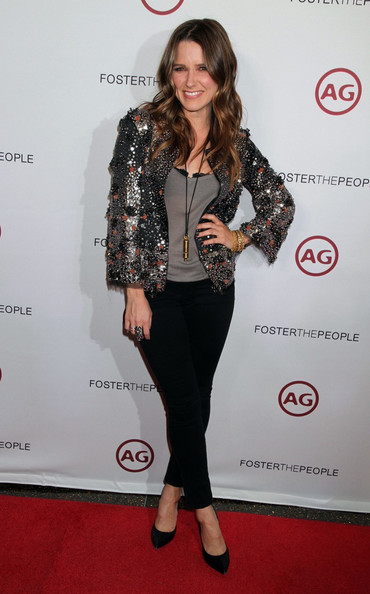 Sophia Bush - Foster The People in Vegas