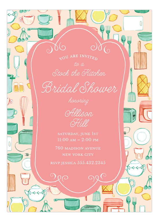 kitchen bridal shower faucets for sale invitation