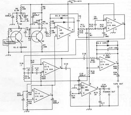 Circuit Medium Power 40khz Ultrasound Transducer Driver Circuits