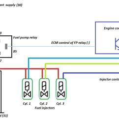 Ribu1c Wiring Diagram Generator Manual Changeover Switch 87a Relay Basic