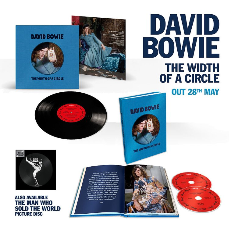 DOWNLOAD ALBUM: David Bowie - The Width of a Circle zip download