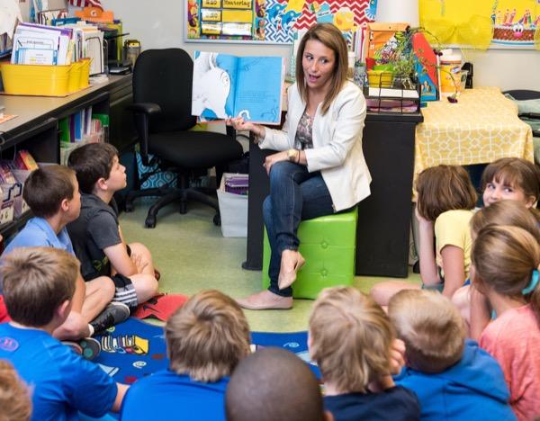 Sharon Walpole develops improved English curriculum for
