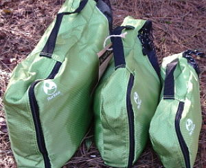 Three Will Win Packing Cubes and a Laundry Bag made from recycled materials for Eco Friendly, Organized, Stress Free Travel