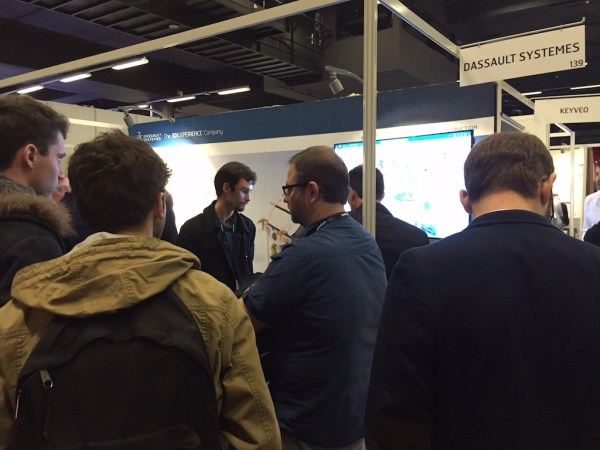 BIM World expo floor