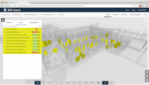 BIM Assure's web-based model viewer makes it easy to find and fix data issues in building models.