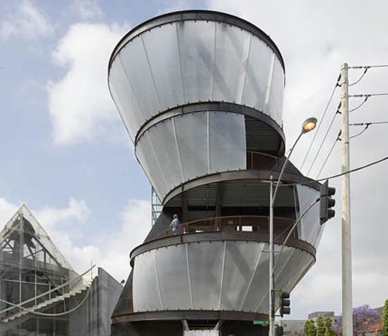 Art Tower by architect Eric Owen Moss job ID 5633