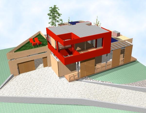 Red Box 3D Model