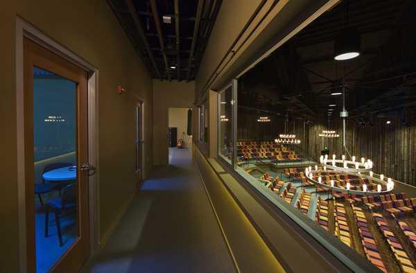 2nd Floor Corridor between Offices and Theater
