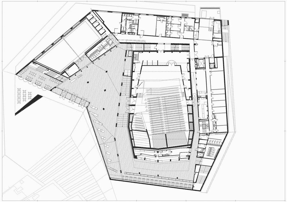 Kodaly Centre  Concert Hall in PECS by ptsz Stdi