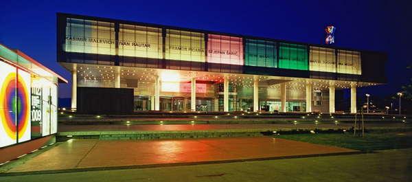 Museum Of Contemporary Art In Zagreb Croatia By Studio Za