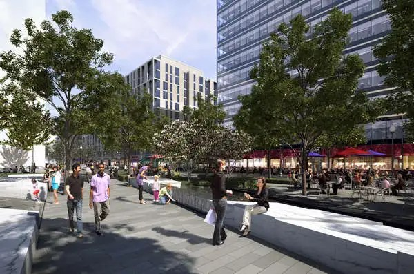 AECCafe City Center In Washington DC By Foster Partners