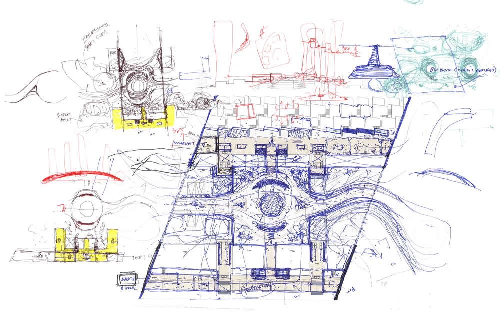 Marina Beach Towers In U A E By Oppenheim Architecture Design