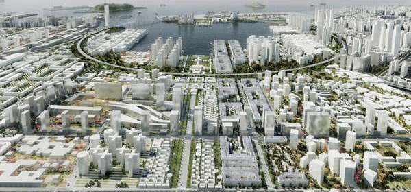 Aeccafe Qianhai Port City In Qianhai China By Oma Architect