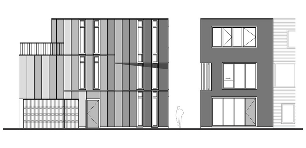 Corner House in Leiden, The Netherlands by Sophie Valla
