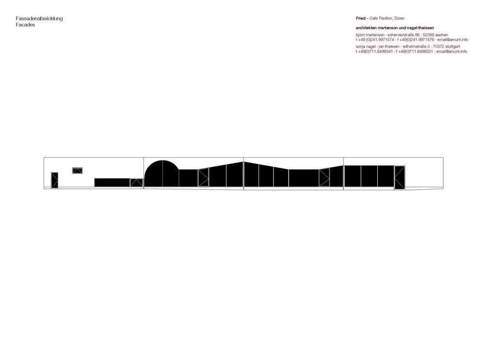 cafe pavilion in d ren germany by architekten martenson und. Black Bedroom Furniture Sets. Home Design Ideas