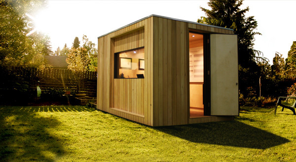 Archshowcase contemporary garden buildings by for Outdoor studio rooms