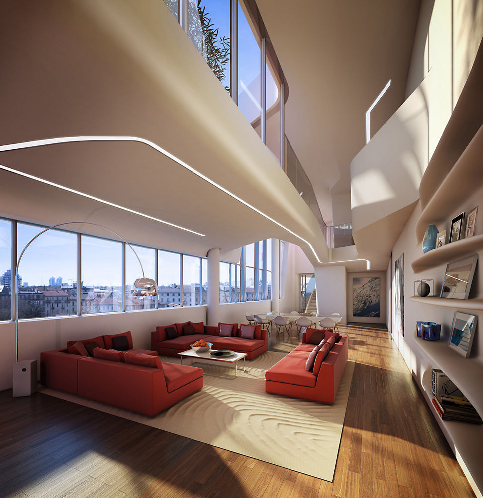 Citylife milano in milan italy by zaha hadid architects for Design apartment milano city center duomo