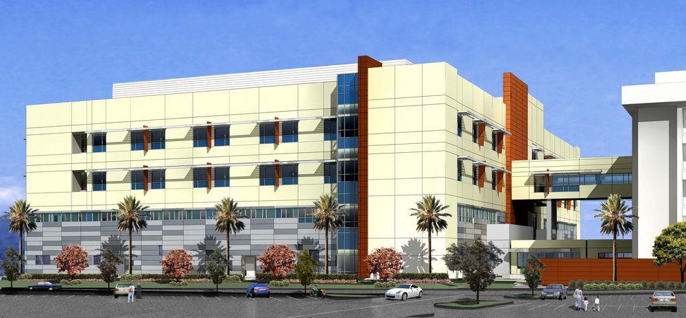 St Jude Medical Center Orange County Fullerton Ca Hospital >> St Jude Medical Center Northwest Patient Tower In Fullerton Ca