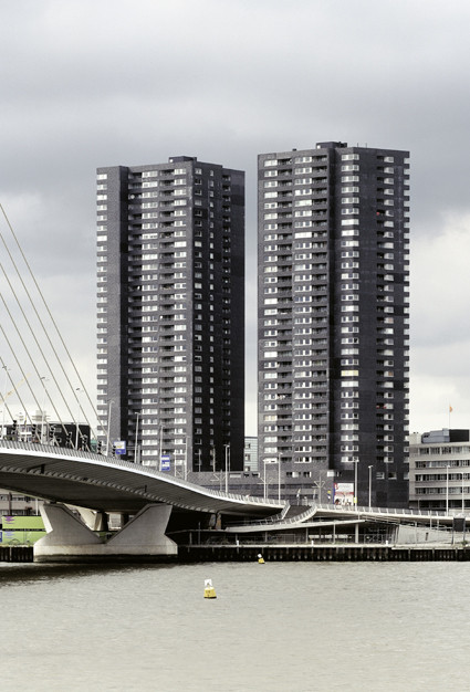 Tower Hoge Heren In Rotterdam The Netherlands By Wiel Arets