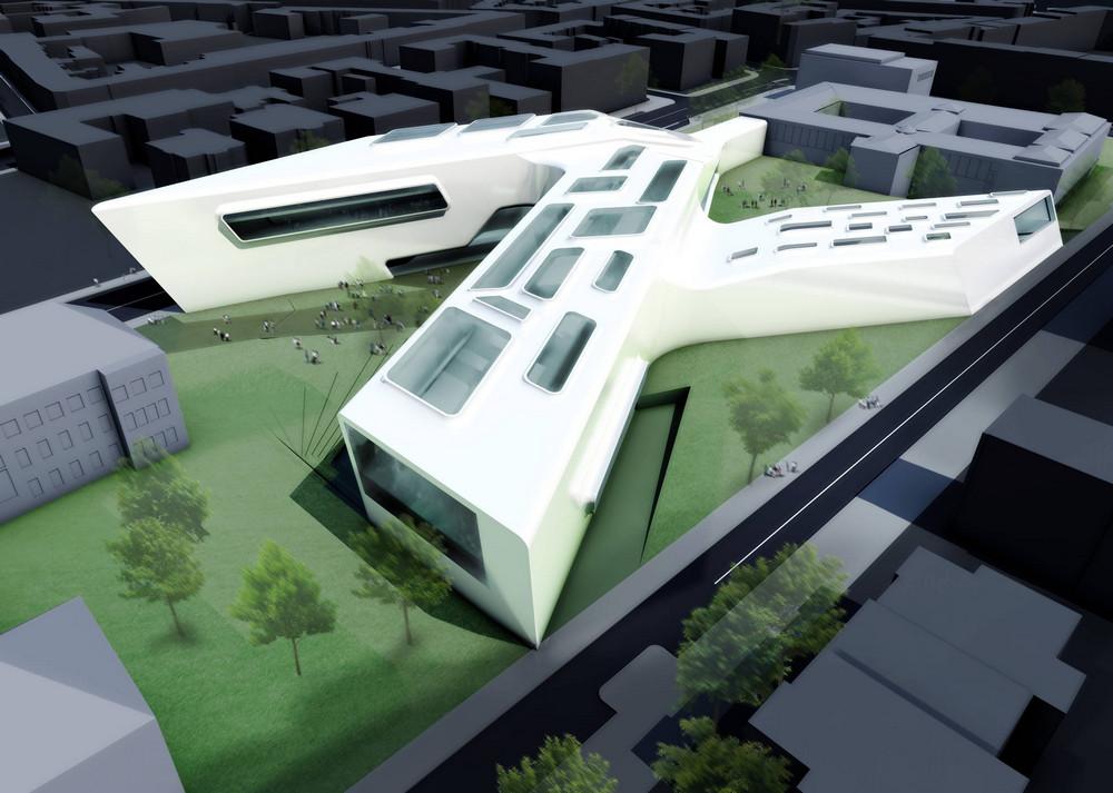 Museum Folkwang In Essen Germany By Zaha Hadid Architect