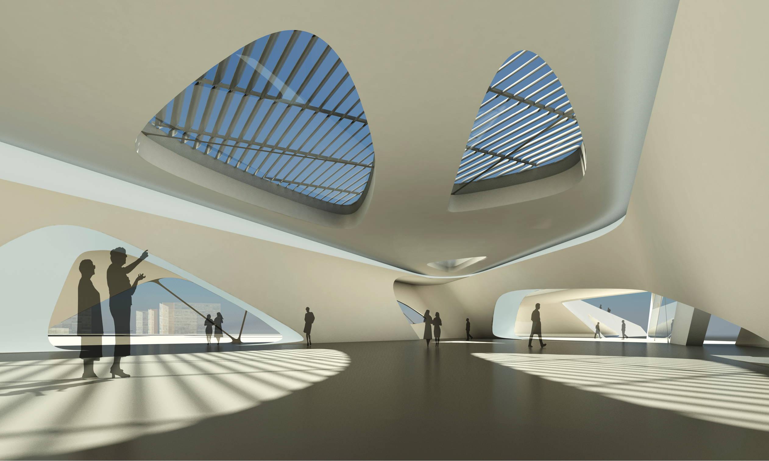 Nuragic And Contemporary Art Museum In Cagliari Italy By Zaha
