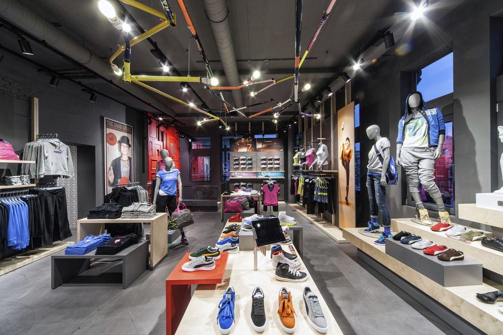 Puma Stores Amsterdam, London and Munich By Plajer & Franz