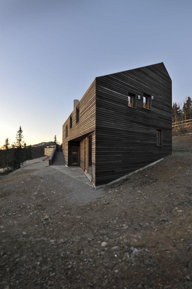 Twisted Cabin-exterior (4) : Image Courtesy  JVA