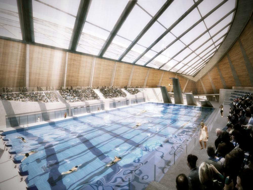 image courtesy dos architects - Olympic Swimming Pool 2013