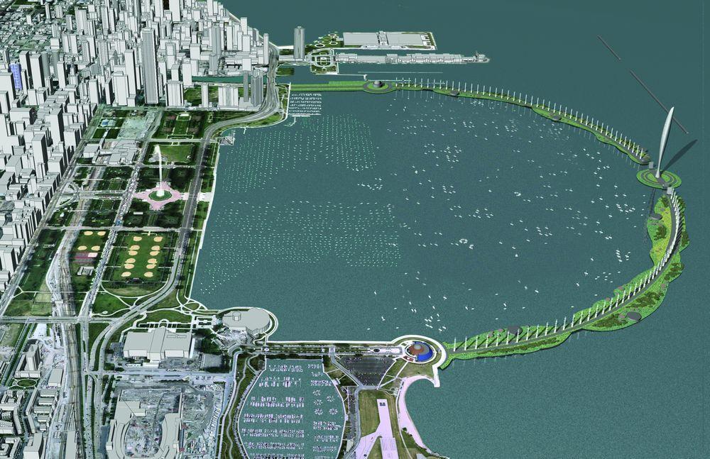 Eco Bridge In Chicago Illinois Usa By Adrian Smith Gordon