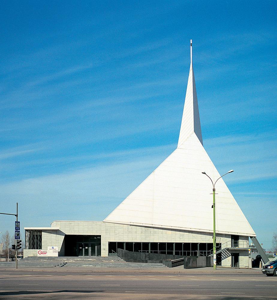 Estonian Methodist Church in Tallinn, Estonia by AB Künnapu