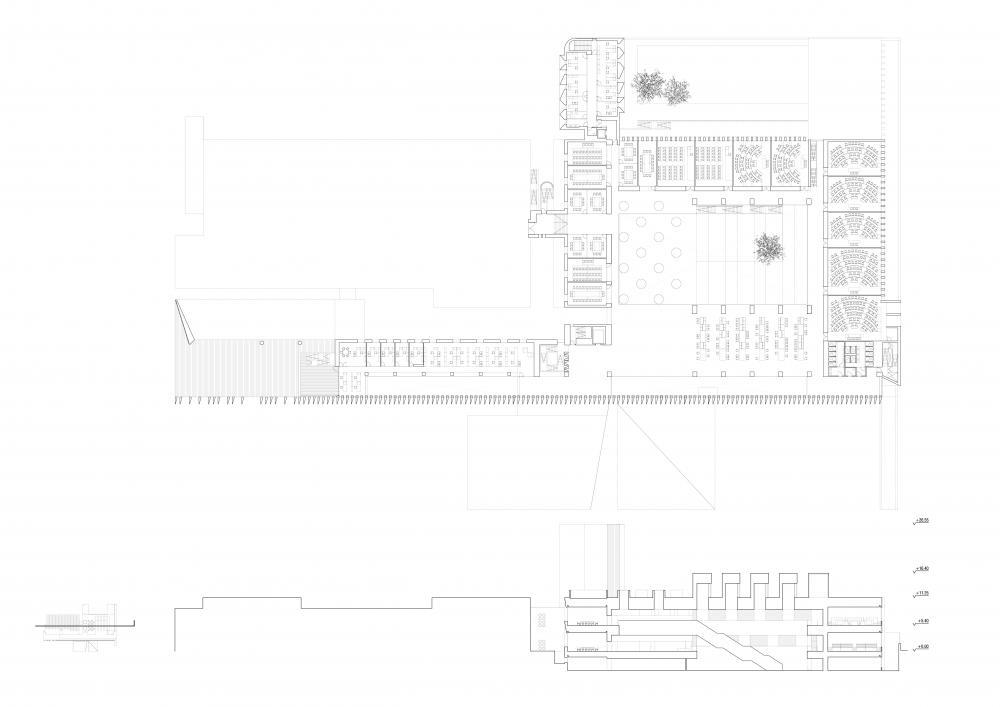 ECONOMICS BUILDING OF THE UNIVERSITY OF NAVARRA, PAMPLONA in