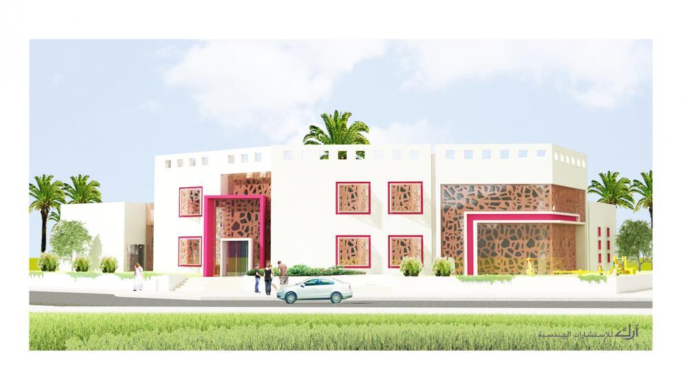 AECCafe: Kindergarten in Doha, Qatar by Ark-Kassam Architects