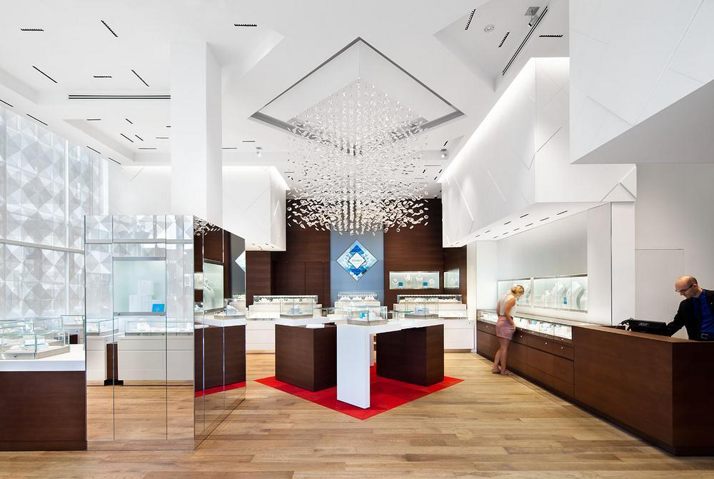 Maison Birks Boutiques In Montreal Canada By Sid Lee