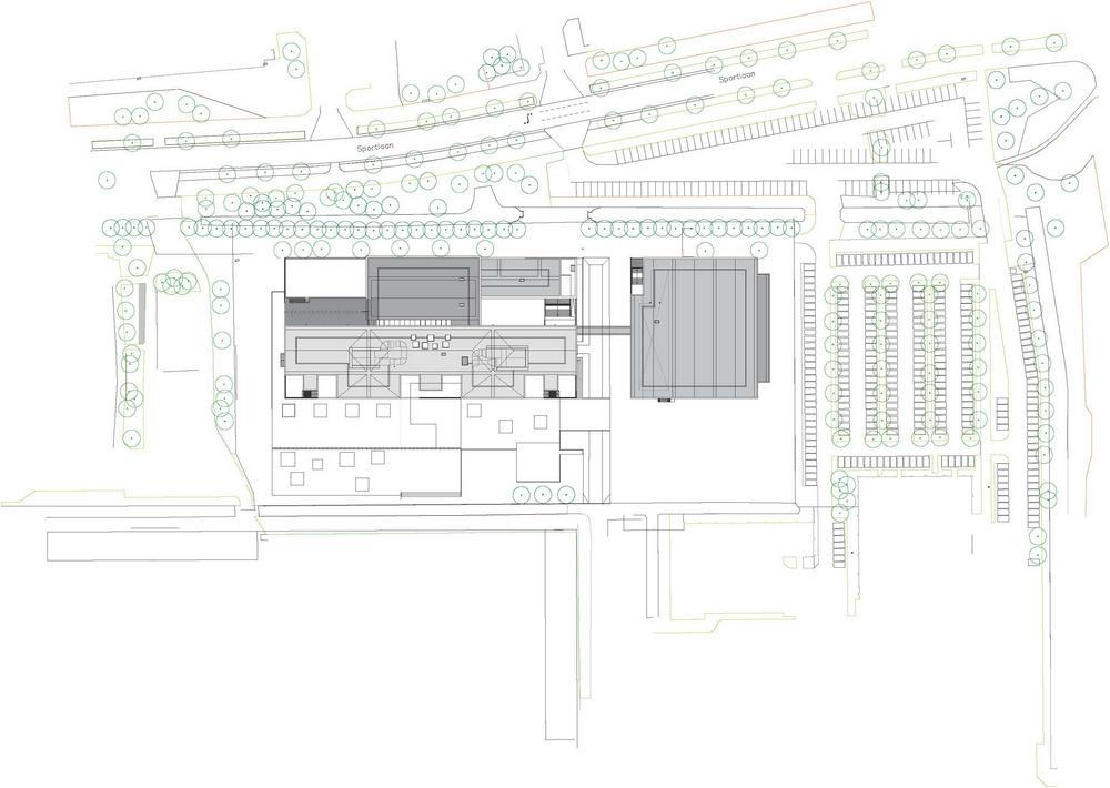 Amstelveen College in Amsterdam, Netherlands by DMV architects