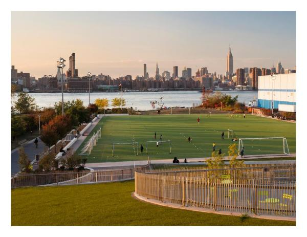View of Manhattan from Upper Plaza - Photo Credit: © Paul Warchol