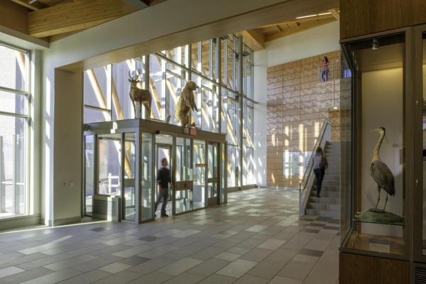 North Entrance, Image Courtesy © David Lamb Photography