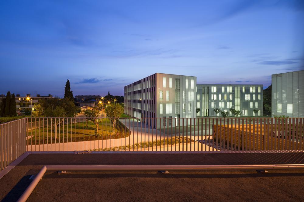 Captivating Extension Of Université De Provence In Aix En Provence, France