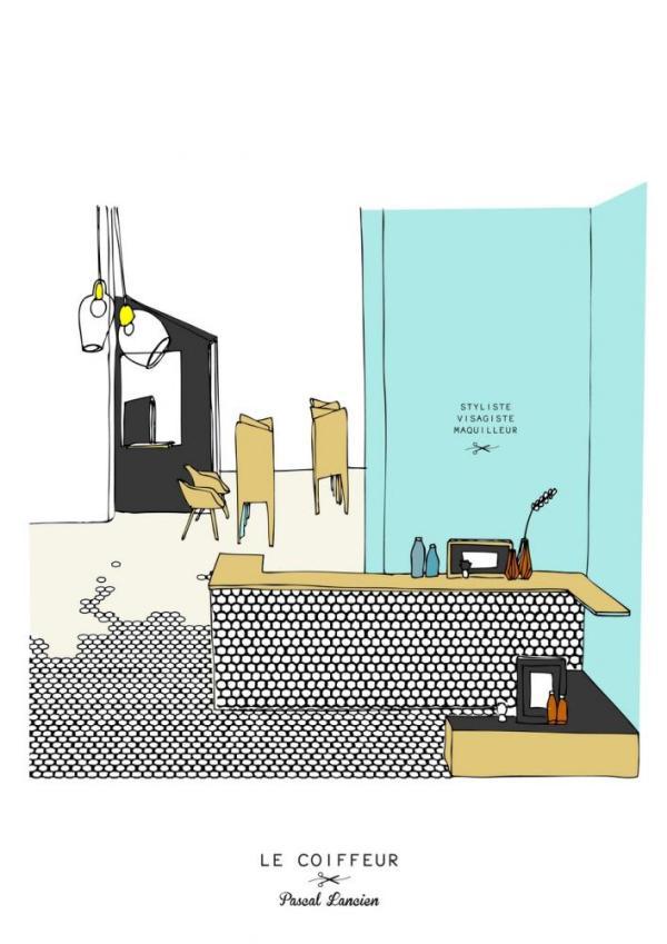 Image Courtesy © Margaux Keller Design Studio + Bertrand Guillon architect
