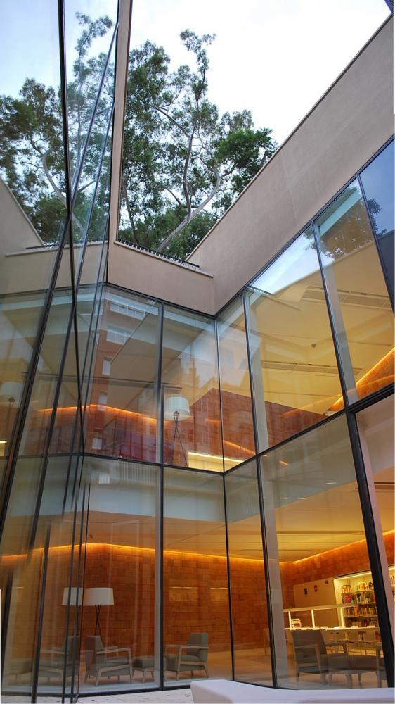 Joan maragall library in barcelona spain by bcq arquitectura - Arquitectura barcelona ...