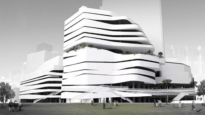 Em quartier luxury retail complex in bangkok thailand by for Bangkok architecture