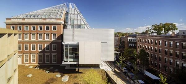 Exterior view – South façade  September 2014, Image Courtesy © Ph. Nic Lehoux
