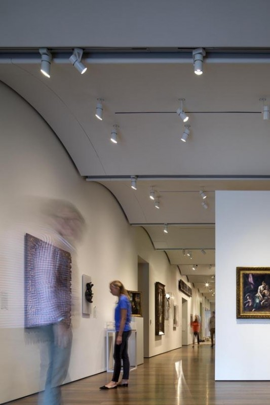 Interior view gallery 2nd level September 2014, Image Courtesy © Ph. Nic Lehoux