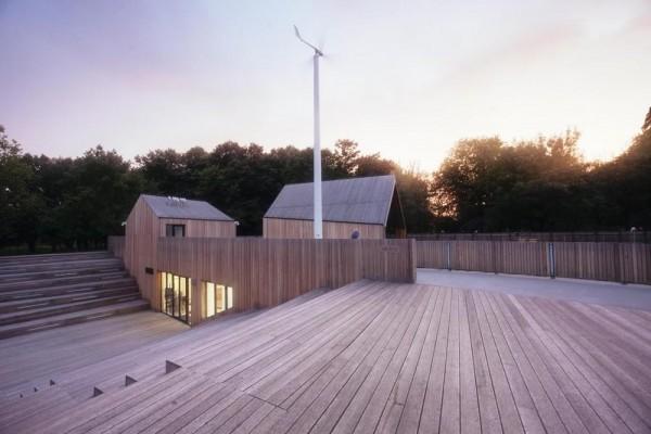 Amphiteatre and energy turbine, Image Courtesy © Rafał Kłos