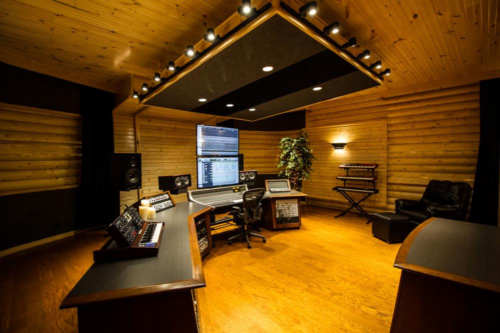 Wsdg Creates Rustic Owl City Studio For Platinum Artist