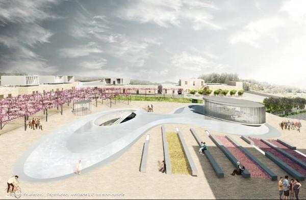 View of the Square, Image Courtesy © sparch Sakellaridou/ Papanikolaou Architects & Ch. Marathovouniotis