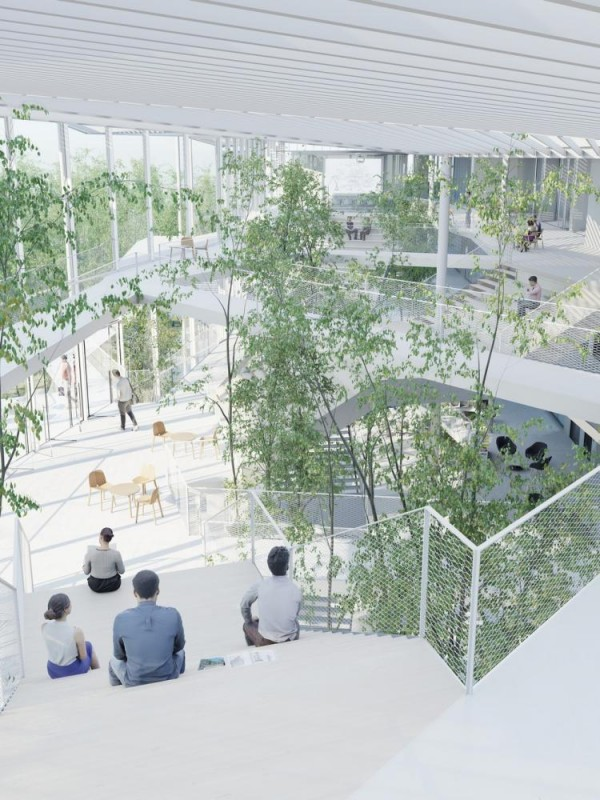 Image Courtesy © SOU FUJIMOTO ARCHITECTS + NICOLAS LAISNE ASSOCIES + MANAL RACHDI OXO ARCHITECTS