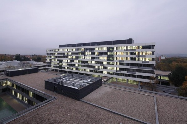The freshly renovated IC-Complex of Ruhr-University Bochum, Image Courtesy © Hans-Jürgen Landes